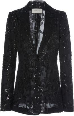 Alexis Firdas Sequin Embroidered Tulle Blazer