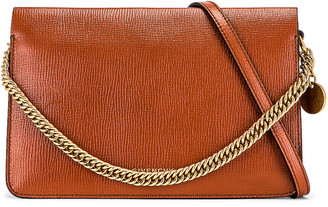 Givenchy Cross 3 Leather & Suede Crossbody Bag in Chestnut | FWRD