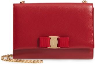 Salvatore Ferragamo Mini Vara Leather Crossbody Bag