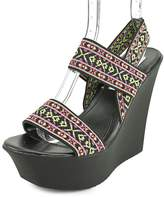Madden-Girl Sabel Women US 7.5 Multi Color Wedge Sandal