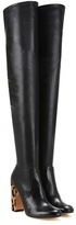 Francesco Russo Over-the-knee Leather Boots