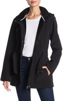Gerry Removable Hood Faux Fur Lined Softshell Jacket