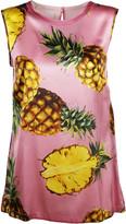 Dolce & Gabbana Pineapple Print Tank Top