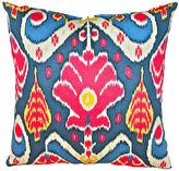 Kim Salmela Chaya 20x20 Cotton Pillow, Blue Multi