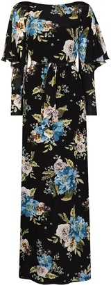 Erdem Jude floral-print silk maxi dress