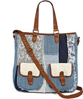 Arizona Double Pocket Patchwork Tote