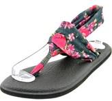Sanuk Yoga Sling 2 Prints Open Toe Canvas Thong Sandal.