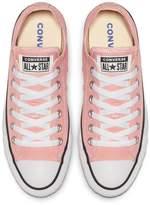 Converse Chuck Taylor All Star Canvas Ox Plimsolls - Light Pink