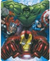 Marvel Avengers - Heroes Assemble Hulk Iron Man Capt America Thor 40x50 Mink Style Blanket in Gift Box