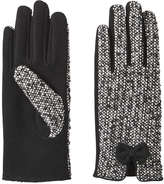 Joe Fresh Women's Tweed Gloves, JF Black (Size M/L)
