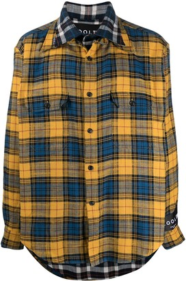 COOL T.M Double Layered Check Shirt