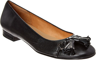 French Sole Kir Leather Flat