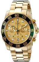Invicta Men's 21554 Pro Diver Analog Display Swiss Quartz Gold-ToneWatch