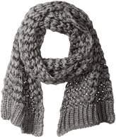 Rampage Women's Loose Knit Oblong Scarf