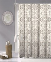 """Thumbnail for your product : Dainty Home Mosaic Fabric Shower Curtain, 70"""" x 72"""" Bedding"""