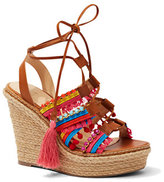 New York & Co. Embellished Wedge Sandal