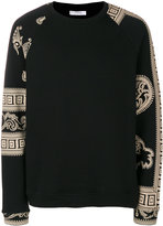 Versace Baroque printed sweatshirt