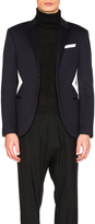 Neil Barrett Fine Double Bonded Sweatshirt Jacket