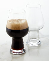 Luigi Bormioli Stout/Porter Beer Glasses, Set of 2
