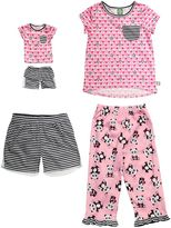 Dollie & Me Girls 4-14 Panda Pajama Set