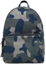Camo-print Backpack