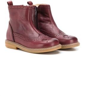 Pépé Brogue-Style Ankle Boots