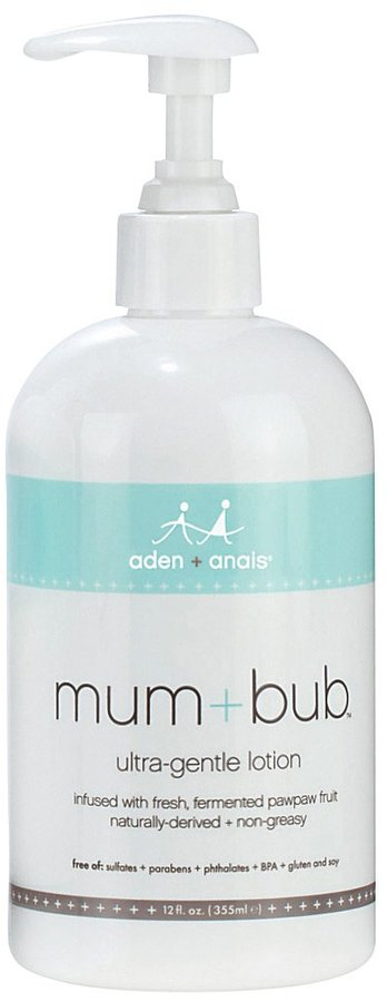 Aden Anais aden + anais mum + bub Ultra Gentle Lotion - Australian Sandalwood - 12 oz