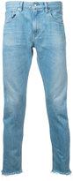 Monkey Time raw hem cropped jeans - men - Cotton - S