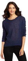 Design History Women's 100% Cashmere Hi/Low Sweater