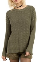 Volcom Women's Twisted Mr Cotton Sweater
