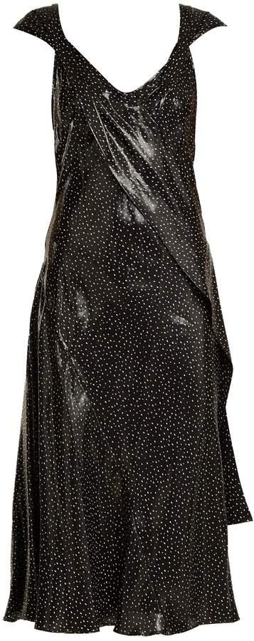 Diane von Furstenberg Polka dot-print silk-blend dress