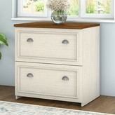Beachcrest Home Oakridge 2-Drawer Lateral Filing Cabinet Color: Antique White