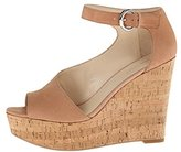 Nine West Women's Adyssinian Nubuck Wedge Sandal