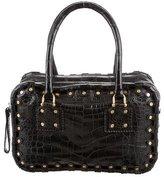 Valentino Alligator Shoulder Bag