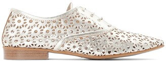 La Redoute Collections Leather Openwork Brogues