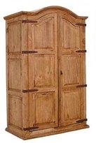 Western Rustic Double Full Door Armoire