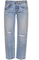 R 13 Straight Boy mid-rise cropped jeans