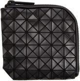 Bao Bao Issey Miyake Black Geometric Matryoshka Zip Wallet
