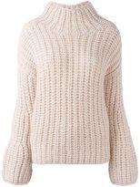 Iris von Arnim turtleneck ribbed sweater