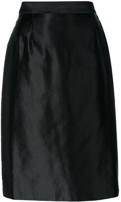 Yves Saint Laurent Pre Owned Pencil Skirt