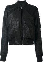 Rick Owens 'Ripple' bomber jacket
