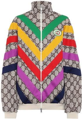 Gucci GG Supreme cotton-blend jacket