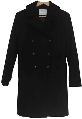 Bruuns Bazaar Black Wool Coat for Women