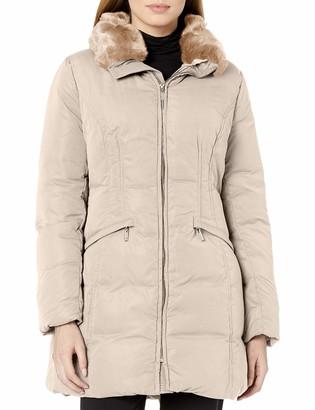 Anne Klein Women's Soft Touch Down Puffer Coat