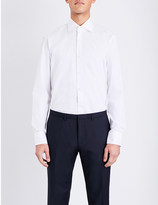 HUGO BOSS Regular-fit cotton shirt
