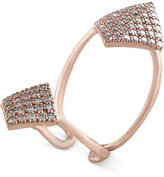 Effy Pavé Rose by Diamond Ring (1-1/10 ct. t.w.) in 14k Rose Gold