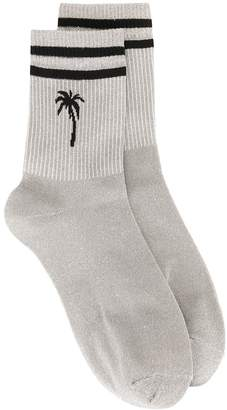 MSGM palm tree socks