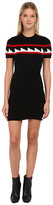 DSQUARED2 Knit Dress with Geometric Motif
