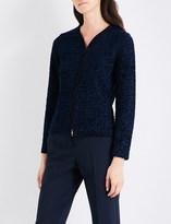 Armani Collezioni Metallic tweed jacket