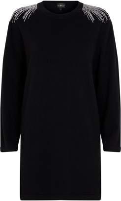 William Sharp Embellished Cashmere Dress